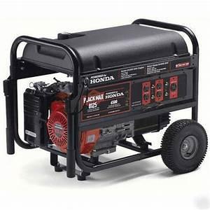 New 13 Hp 8125 Watts Watt Ohv Honda Generator 7kw Tx