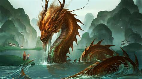 dragon rises    water phone wallpapers