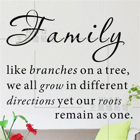 Quotes About Family Do it Family like branches on a