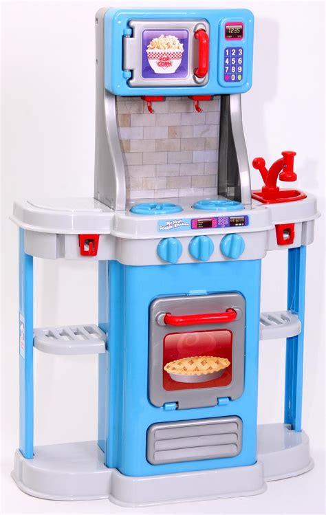 Just Kidz My First Cookin' Kitchen  Blue  Toys & Games