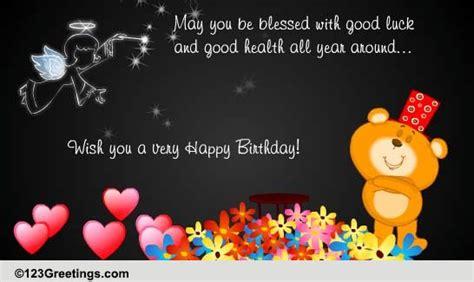good luck  good health  birthday wishes ecards