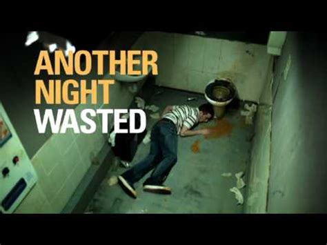 night wasted binge drinking tv ad youtube