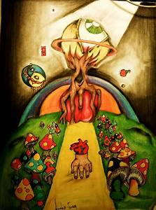 SHROOM TRIP by SINESTER-FINGER on DeviantArt