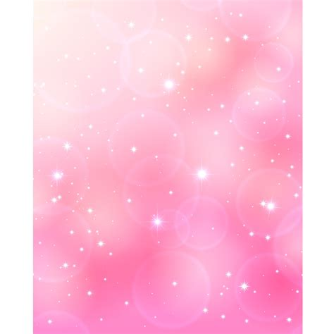 In Pink by Sparkling Pink Bokeh Printed Backdrop Backdrop Express