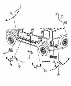 Jeep Liberty Wiring  Front Door  Passenger  Passenger Side