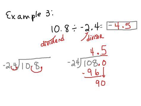 to devide how to divide a decimal into a decimal popflyboys