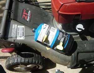 convert  lawn mower  small engine  propane
