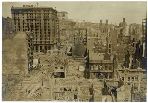 San Francisco Earthquake 1906 History