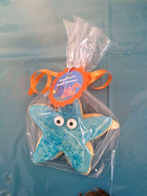 starfish cookies finding nemo baby shower   sea