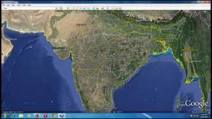 Top View Of India From Google Earth