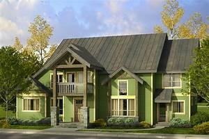 Lodge, Style, House, Plans, -, Riverbank, 30-999