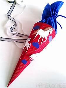 Schultüte Selber Basteln Motive : pamelopee schult te pferde eine einfache zuckert te selber basteln tipps und tricks meine ~ Watch28wear.com Haus und Dekorationen