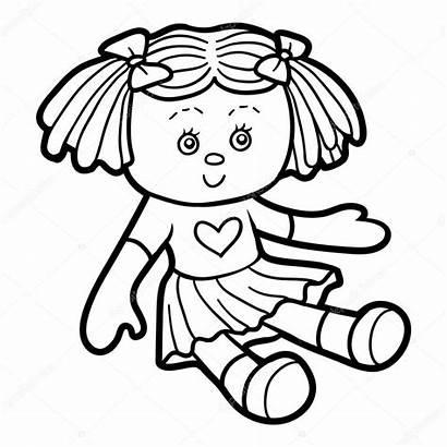 Colorir Colorare Bambola Puppe Doll Boneca Coloring