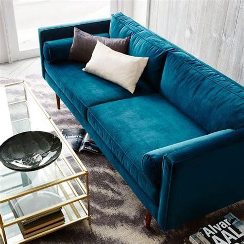 blue velvet sofa living room blue velvet sofa ideas for creating a royal living room