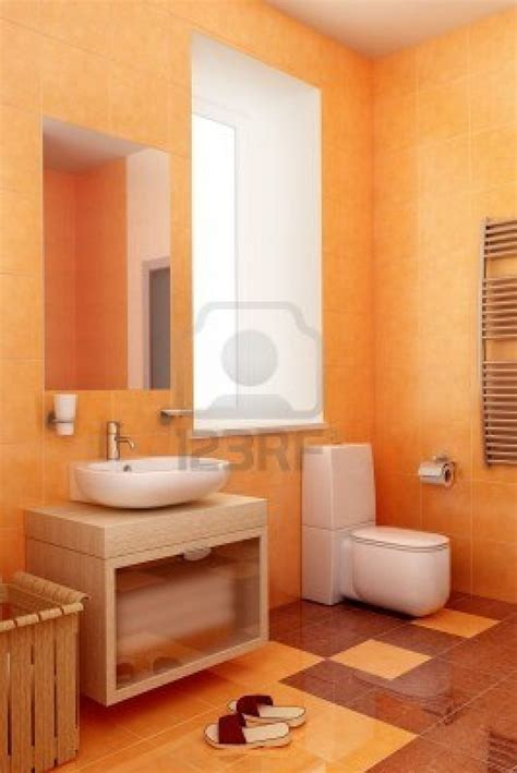 Ideas For An Orange Bathroom by 17 Best Images About Bathroom In Orange Color On