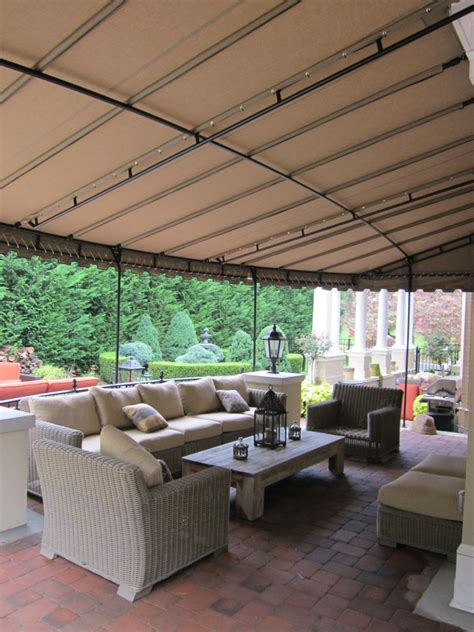 patio canopy wall mount  front kreiders canvas service