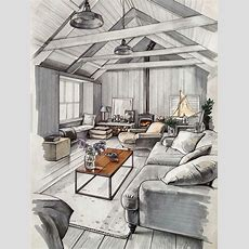 Best 25+ Interior Sketch Ideas On Pinterest Interior