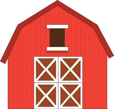 Barn Clipart by Best Barn Illustrations Royalty Free Vector Graphics