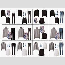 The French 5piece Wardrobe + A Common Capsule Wardrobe