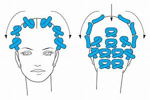 Collection Of Hair Sectioning Diagrams