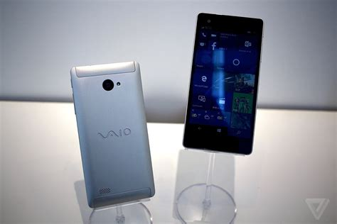 phone for vaio phone biz the weirdly named windows 10 phone for