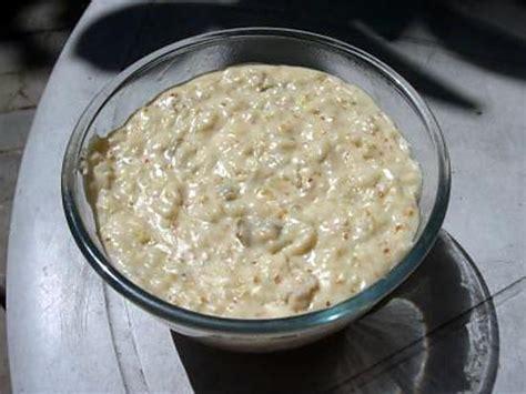 recette de riz au lait 224 la turque
