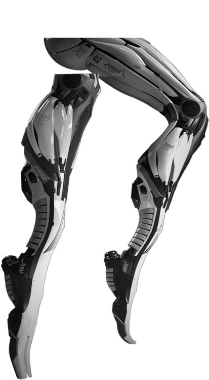 "Sarif Industries legs from ""Deus Ex: Human Revolution"