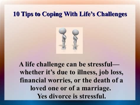 10 Tips To Coping With Life's Challenges