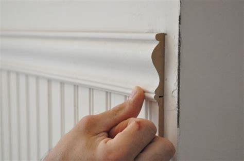 Thin Beadboard Paneling : How To Install Beadboard Wainscoting