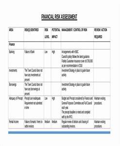 37 risk assessment templates free premium templates With financial assessment template