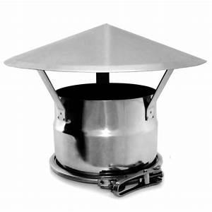 Chapeau Inox Pour Tubage : chapeau chinois double paroi r novation 300 350 trachemin e ~ Edinachiropracticcenter.com Idées de Décoration