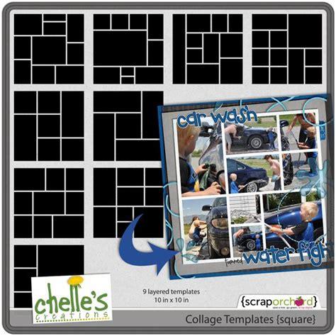 images  photo collage templates  pinterest