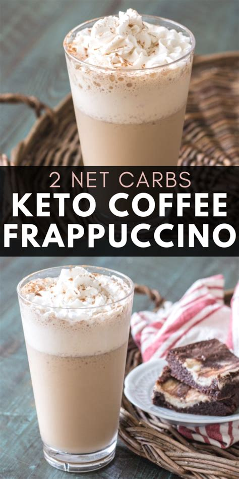 A list of the healthiest starbucks drinks based on fat, carb, and protein content. A low carb, Keto Coffee Frappuccino just like Starbucks with less than 2 carbs! A perfect ...