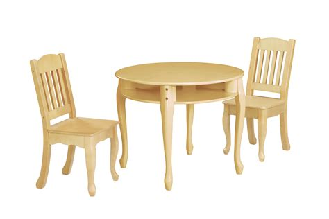 kids table n chairs children 39 s windsor round table and chairs set natural