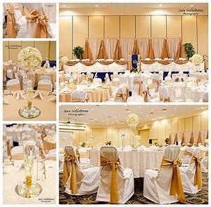 91+ Elegant Gold Party Decorations - Wedding Cake Servers