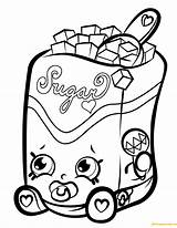 Shopkins Coloring Shopkin Pages Sugar Lump Season Sweet Treats Drawing Crush Eazy Snow Printable Chocolate Clipart Ipad Colouring Dolls Cartoon sketch template