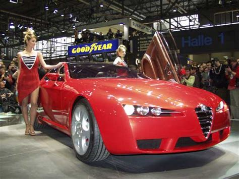 2002 Alfa Romeo Brera Concept, Geneva Auto Show