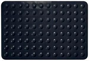 tapis antiderapant color noir noir homebain vente en With tapis de douche antidérapant sur mesure