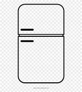 Coloring Clipart Refrigerator Webstockreview Line sketch template
