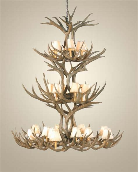 how to make deer antler chandelier how to make an antler