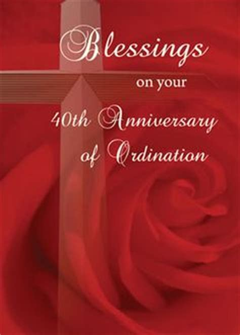 priest 50th anniversary of ordination blessing card anniversaries greeting card and cards