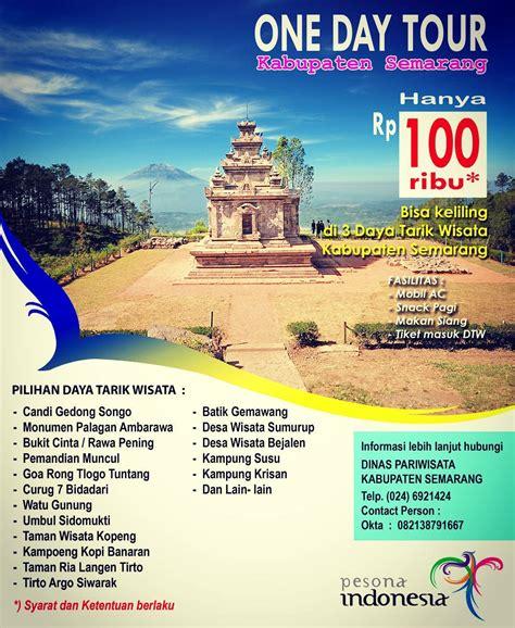 contoh pamflet wisata religi tempat wisata indonesia