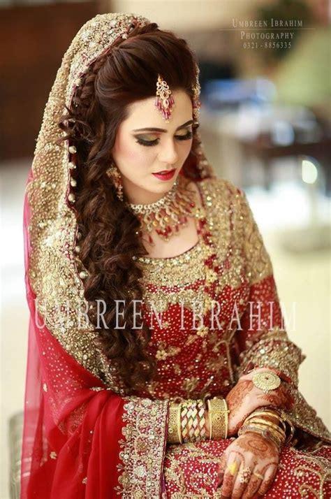 latest pakistani bridal hairstyles   girlslatest