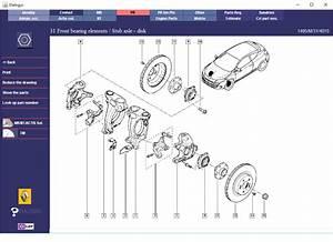 Renault Megane Rs265 Front Suspension  U2013 Parts Diagrams 2