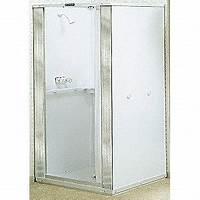 "free standing shower stalls MUSTEE 32"" x 32"" x 74-3/4"" Free Standing Thermoplastic ..."