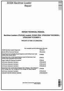 Tm12472  S3a  Backhoe Loader  Sn