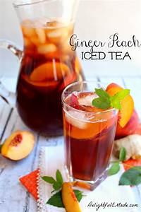 Made Com : lemon ginger sweet tea tastes of lizzy t 39 s ~ Orissabook.com Haus und Dekorationen