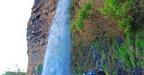 Waterfall Highway Madeira Portugal Lovely Places