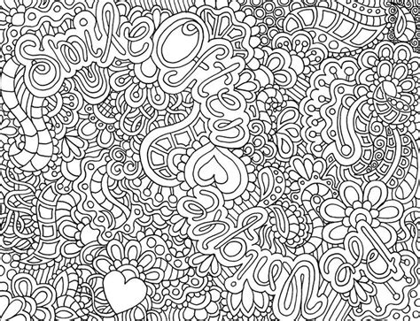Printable Difficult Coloring Pages