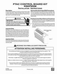 Amana Rskp0006 Instruction Manual
